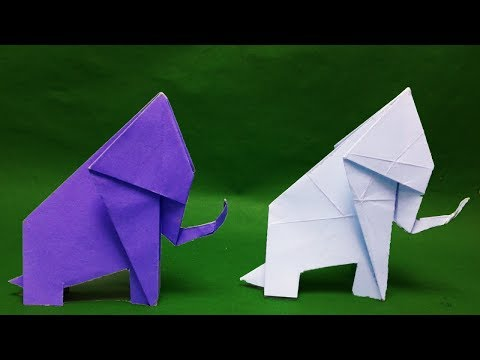 paper-animals-how-to-make-origami-elephant-step-by-step-origami-for-kids-paper-craft.