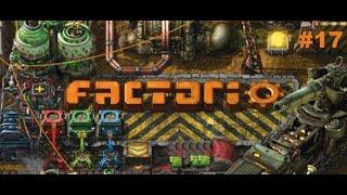 Factorio #17 Феолетовая наука и завод по производству всего необходимого (на дронах)