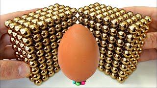 Magnet Satisfaction 105% - Magnetic Balls Vs Egg