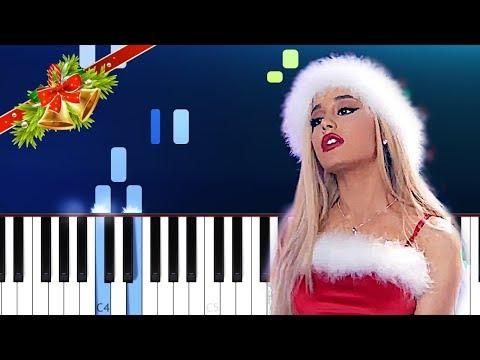 Ariana Grande - Santa Tell Me Piano Tutorial