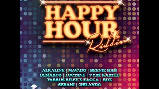 Happy Hour Riddim Mix | (Vybz Kartel, Mavado, Alkaline, Demarco,I Octane & More) | October 2014