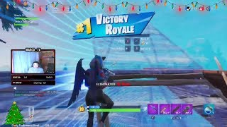 9 Point Win to get the Pin w/ Santan! - Fortnite Battle Royale