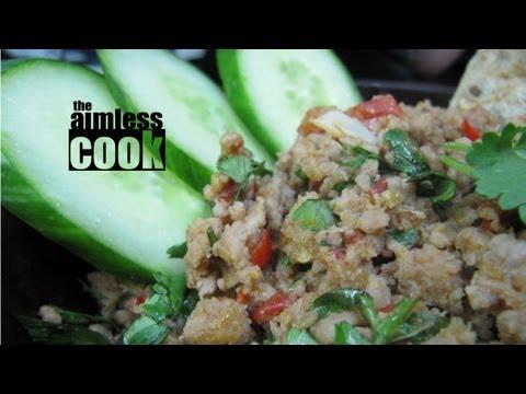 Easy Thai Spicy Pork Dip Recipe (Nam Prik Ong): The Aimless Cook