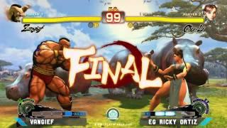 SSFIV: Hadocon II - Vangief vs. EG Ricky Ortiz [2]