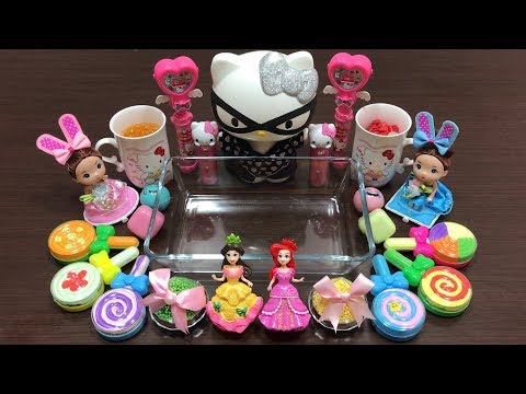 Special Series Hello Kitty & Princess Slime | Mixing Random Things into Clear Slime