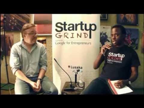 Brad Magrath (Zoona) at Startup Grind Lusaka