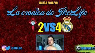 BENZEMA AL 100%! · CELTA DE VIGO 2-4 REAL MADRID · JORNADA 12 LALIGA 2018/19
