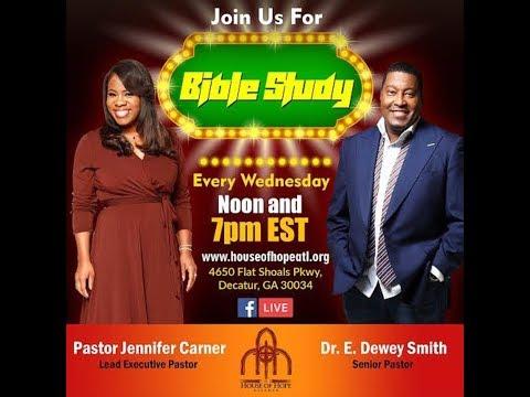 Bible Study w/ Dr. E. Dewey Smith 07/18/18 7pm