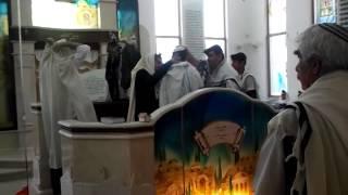 Дербентская семья справляет Бар-мицву в Кавказской синагоге Израиля