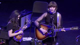 "Molly Tuttle and Sierra Hull ""Over the Line"" 3/12/19  Boston, MA Filmed in 4K."
