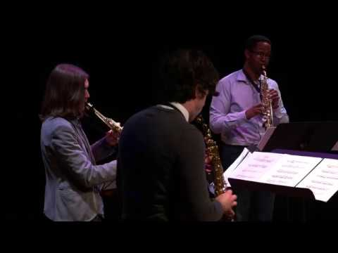 David Reminick - Consort (2012) - for four detuned soprano saxophones