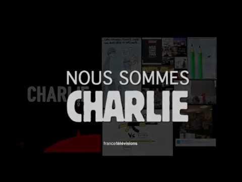 #CharlieHebdo : la vidéo hommage de France Télévisions #NousSommesCharlie