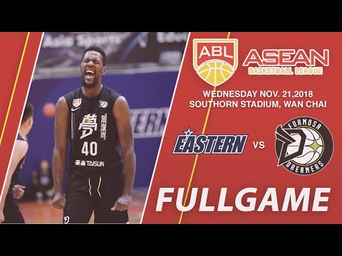 Hong Kong Eastern v Formosa Dreamers | FULL GAME | 2018-2019 ASEAN Basketball League