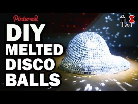 DIY Melted Disco Balls - Pinterest Test #90 - Man Vs Pin