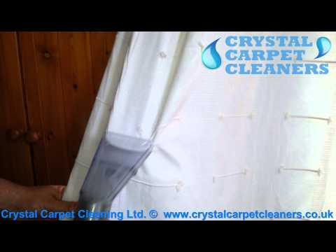 Curtain Cleaning by Crystal Carpet Cleaners Ltd.