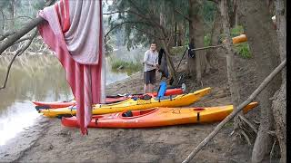Abercrombie kayak 2012  A tribute to Mike Cockerill.