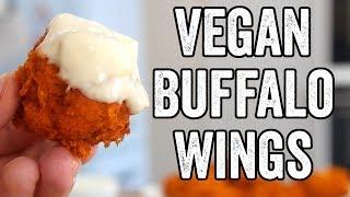 Cauliflower Buffalo Vegan 'Wings'