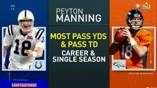 Peyton Manning Career Highlights: Future Hall Of Famer!
