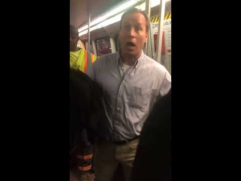 Racist Deodorant Guy Going Nuts on Metro (WMATA) after the 2016 Elections