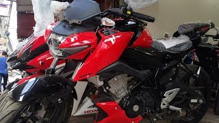 Suzuki GSX-S150 -  Naked Version - Stronger Red Color - Sports Motorcycle