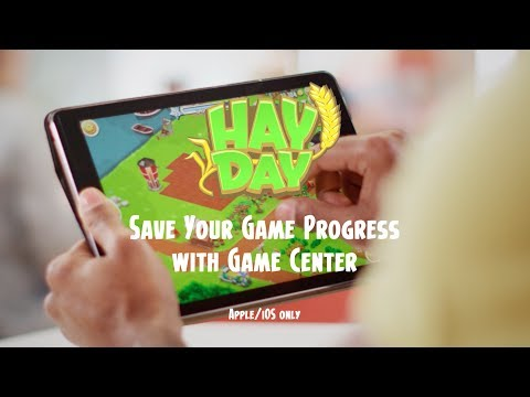 Hay Day: Save your Game Progress with Game Center (iOS)