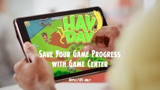 Hay Day: Save your Game Progress with Game Center (iOS7-9 only)