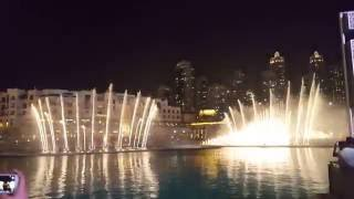 Dubai Mall Dancing Fountain BEST ARABIC SONG EVER !