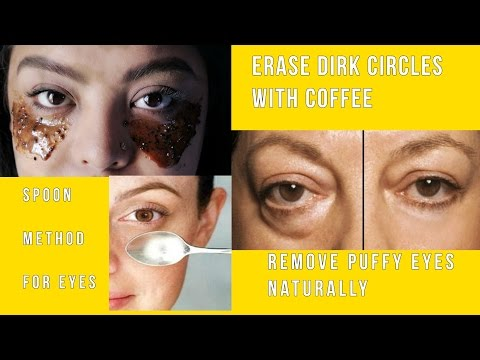 How to Use Coffee to Get Rid of Puffy and Baggy Eyes | Metal Spoon Method