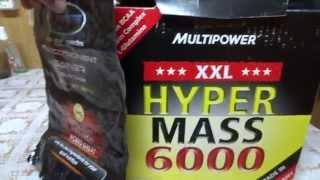 Сравнение протеина Pureprotein и гейнера Multipower Hyper Mass 6000