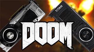GTX 1080 vs. Titan X - Vergleichs-Test mit Doom | deutsch / german
