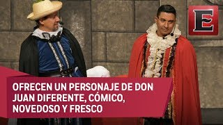 """""""Las locuras del Tenorio"""" en el teatro Venustiano Carranza"""