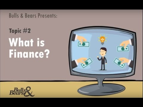 What is Finance?