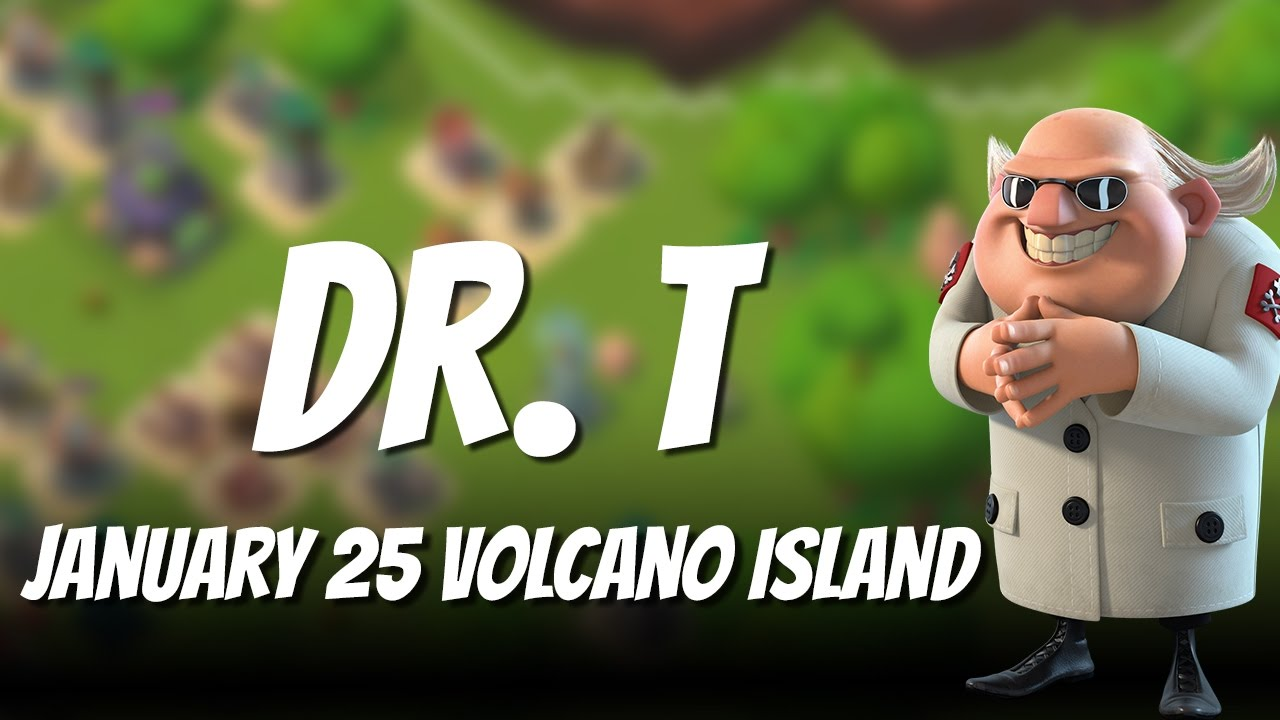 Boom Beach Dr T Volcano Island