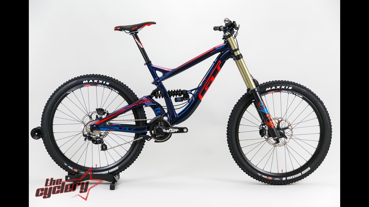 GT Fury Expert Downhill Bike 2016 | THE CYCLERY - YouTube
