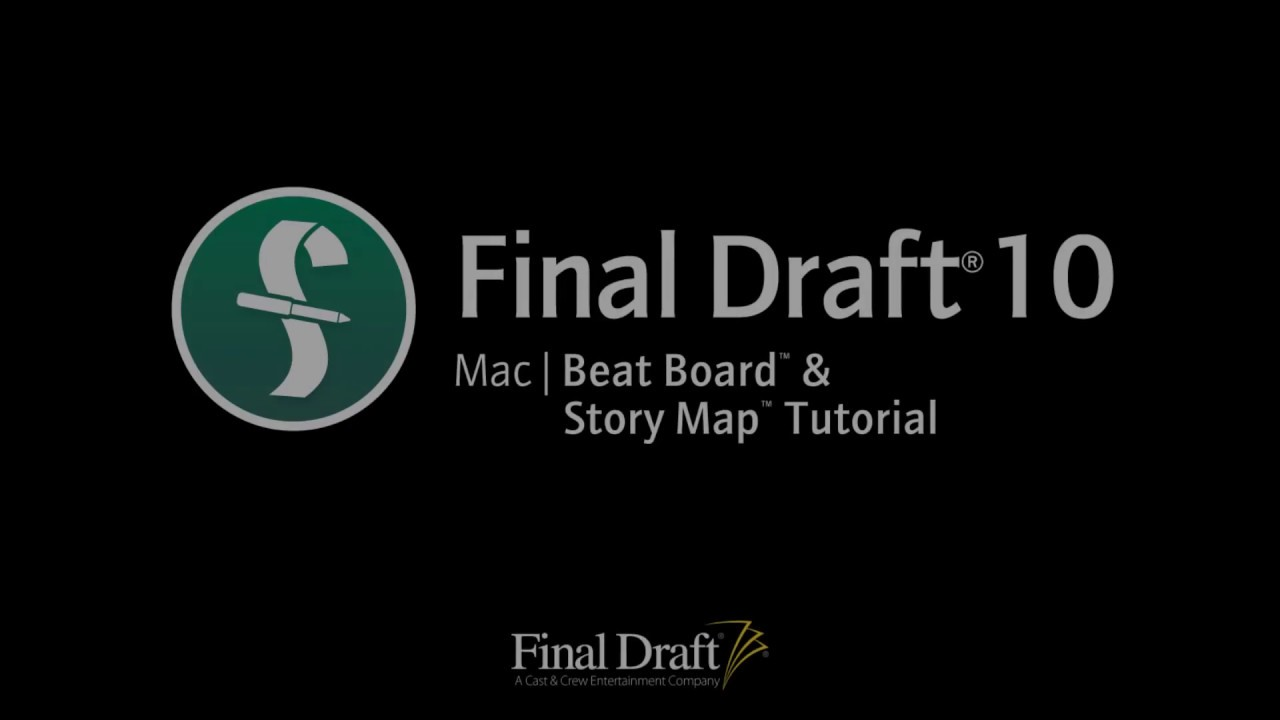 final draft free trial mac