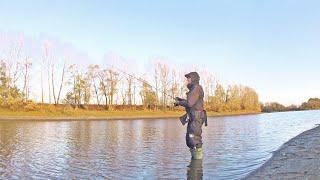 Спиннинг! Береговая рыбалка. ЛУЧШАЯ СНАСТЬ ДЛЯ ЛОВЛИ ОКУНЯ! Был бы окунь :)