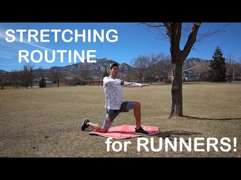 STRETCHING ROUTINE FOR RUNNERS : KEY MUSCLES GROUPS AND TIPS   Sage Running