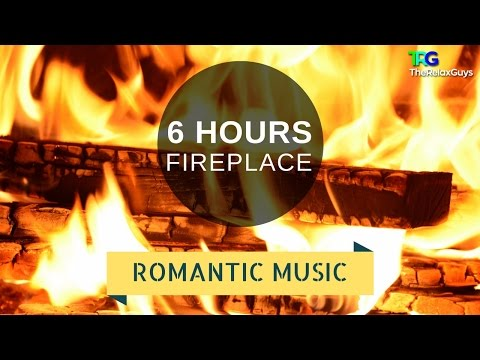 6 Hours Relaxing Classical Music with Gentle Rain & Fireplace (Romantic Piano Music) 🔥 45