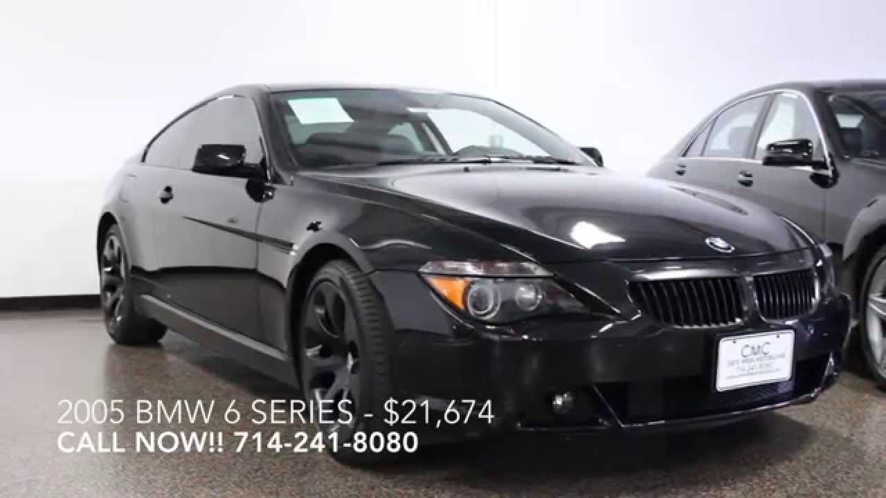 2005 bmw 6 series 645ci 2dr coupe for sale in costa mesa. Black Bedroom Furniture Sets. Home Design Ideas