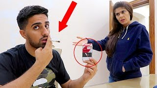 CIGARETTE PRANK ON MOM *SHE BROKE MY LAPTOP* !!!