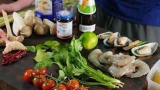 Рецепт Том Ям (оригинальный тайский) с пояснениями