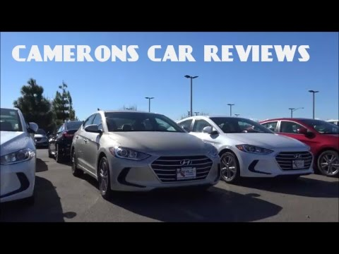 2017 Hyundai Elantra SE Review 2.0L 4 Cylinder Camerons Car Reviews