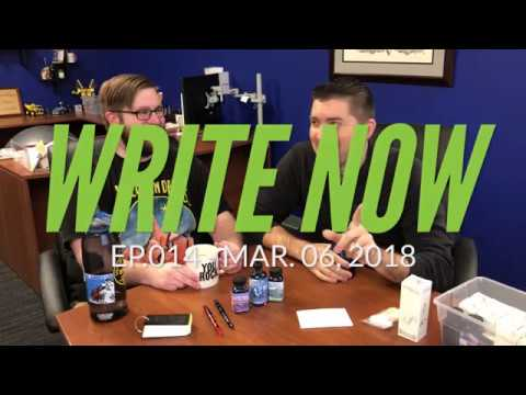 Write Now - Ep.014: Obscure Noodler's Inks with Micah & Brian!