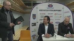 Tunteet kuumenevat lehdistötilaisuudessa Hokki-HCK-pelin jälkeen 3.1.2014