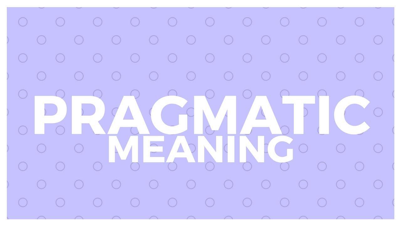 Pragmetic