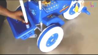 Amardeep Baby Tricycle With Push Handle
