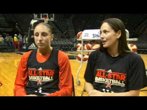 Sue Bird & Diana Taurasi Interview