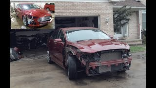 Купили битый Ford Fusion Titanium (Mondeo) 2013 с аукциона  COPART в США.
