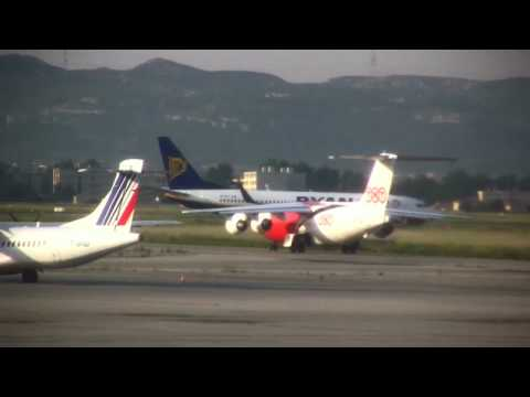 Spotting at Marseille Provence Airport (HD)