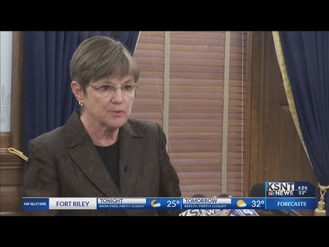 Governor-elect Laura Kelly discusses her plan as governor
